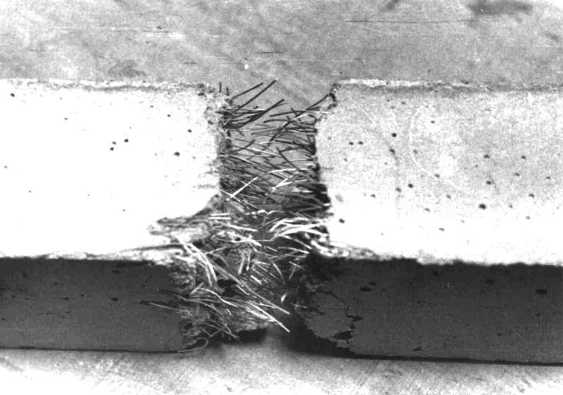 фибра в бетоне