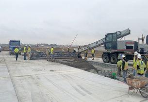 бетон аэродромов