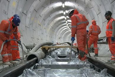 Бетон для подземных конструкций