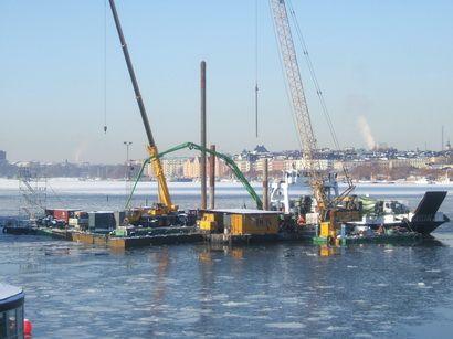 Бетон для подводного строительства