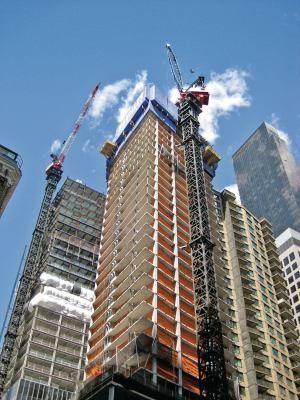 Бетон для высотных зданий