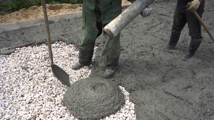 бетон тесто
